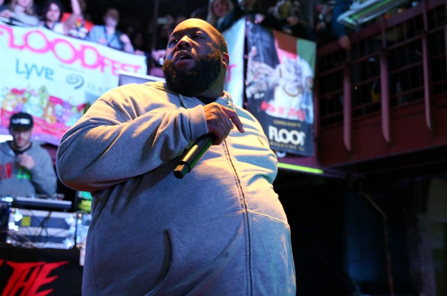 Killer Mike of Run the Jewels performs onstage at the FLOODfest showcase during 2015 SXSW