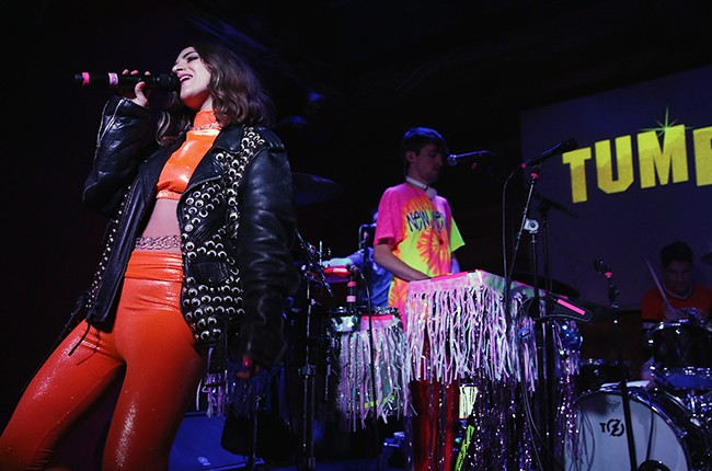 Liz Nistico of Holy Child performs at Tumblr FUCK YEAH Party Sponsored By Entourage At SXSW 2015