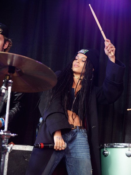 Lolawolf performs at the AXE White Label Collective Party powered by SPIN at SXSW