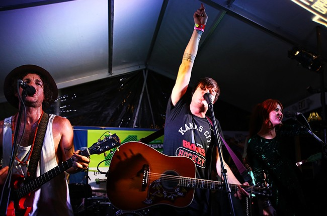 The Mowgli's perform onstage at the 'Stubhub/Collide' showcase during the 2015 SXSW