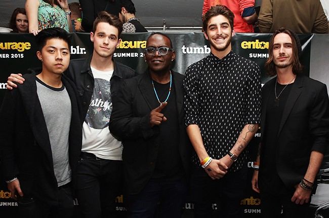North of Nine with Randy Jackson attend Tumblr FUCK YEAH Party Sponsored By Entourage At SXSW 2015