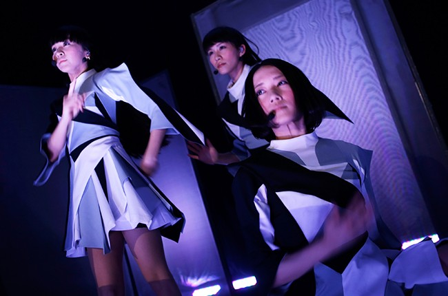 Perfume performs onstage at the EDM Showcase during the 2015 SXSW
