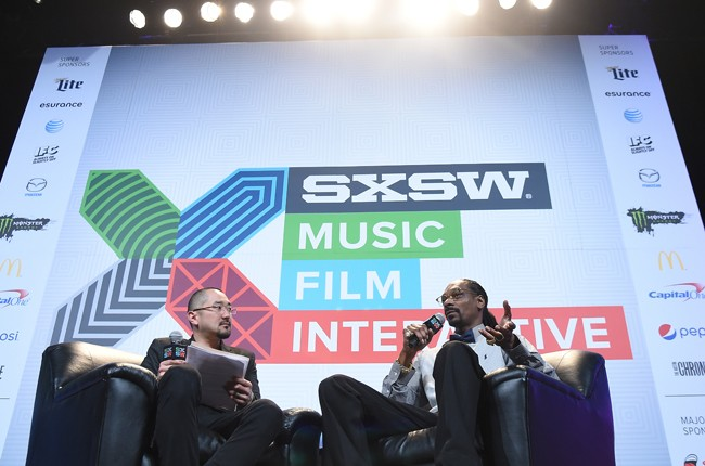Snoop Dogg Keynote during the 2015 SXSW