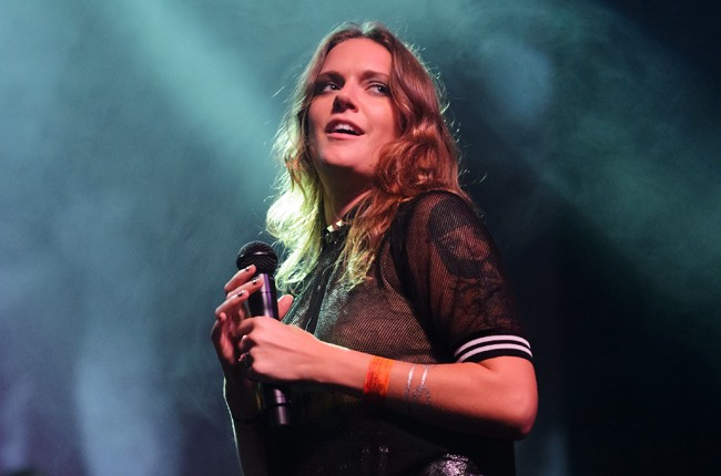 Tove Lo performs at Perez Hilton's One Night in Austin at Austin Music Hall during SXSW