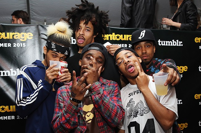 Two-9 attend Tumblr FUCK YEAH Party Sponsored By Entourage At SXSW 2015