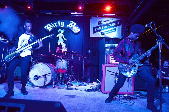Unlocking The Truth perform at the Dirty Dog SXSW