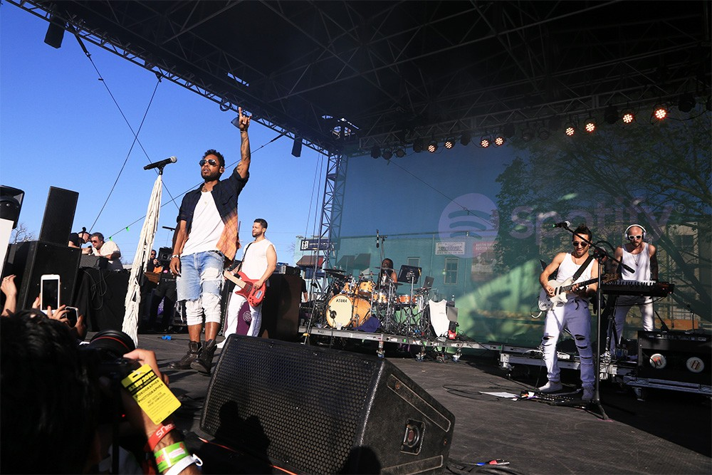 Miguel performs at The Spotify House at SXSW 2016 on March 14, 2016 in Austin, Texas.