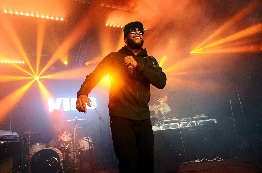Talib Kweli performs onstage at the Mazda Studio at Empire Garage on March 16, 2017 in Austin, Texas.