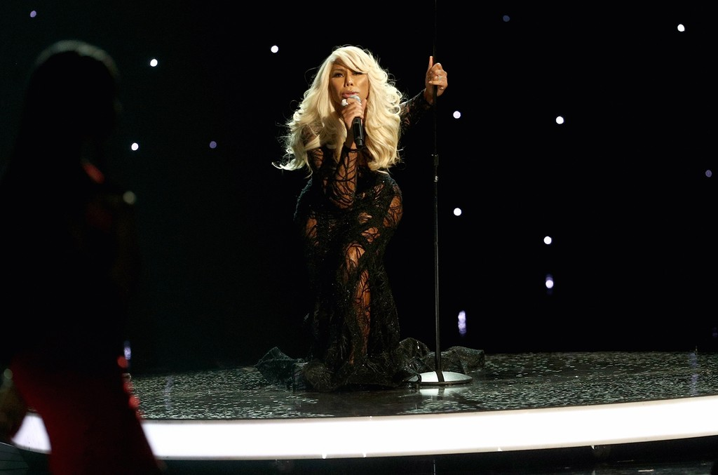 Tamar Braxton performs onstage at 2017 BET Awards at Microsoft Theater on June 25, 2017 in Los Angeles.