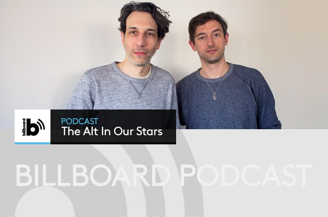 Tanlines visits Billboard's New York office for the Alt In Our Stars podcast