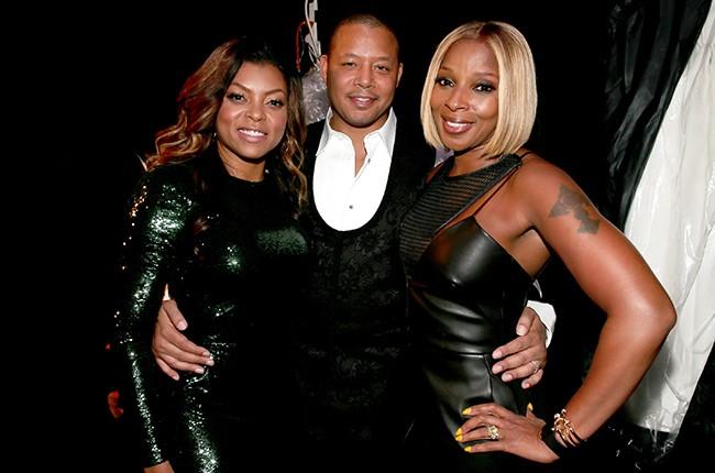 Taraji P. Henson, Terrence Howard and Mary J. Blige