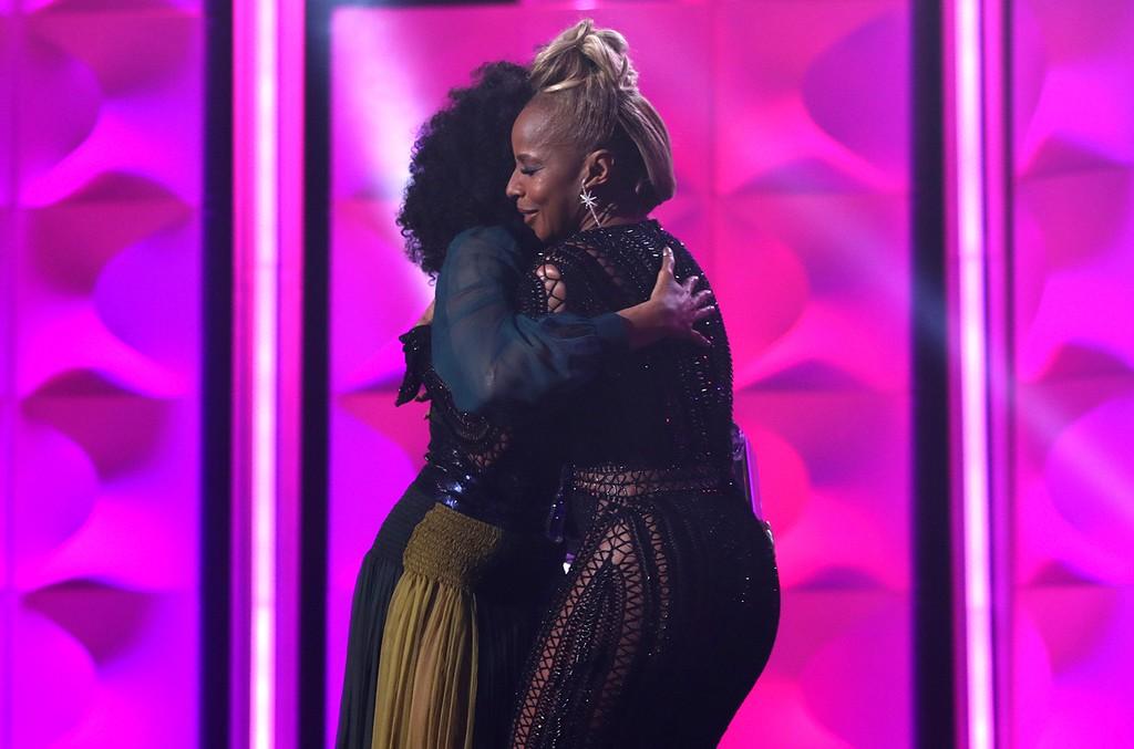 Mary J. Blige and Taraji P. Henson