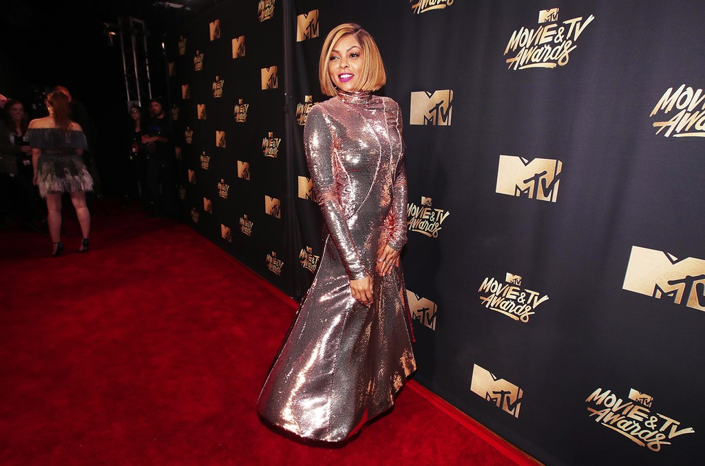 Taraji P. Henson attends the 2017 MTV Movie and TV Awards at The Shrine Auditorium on May 7, 2017 in Los Angeles.
