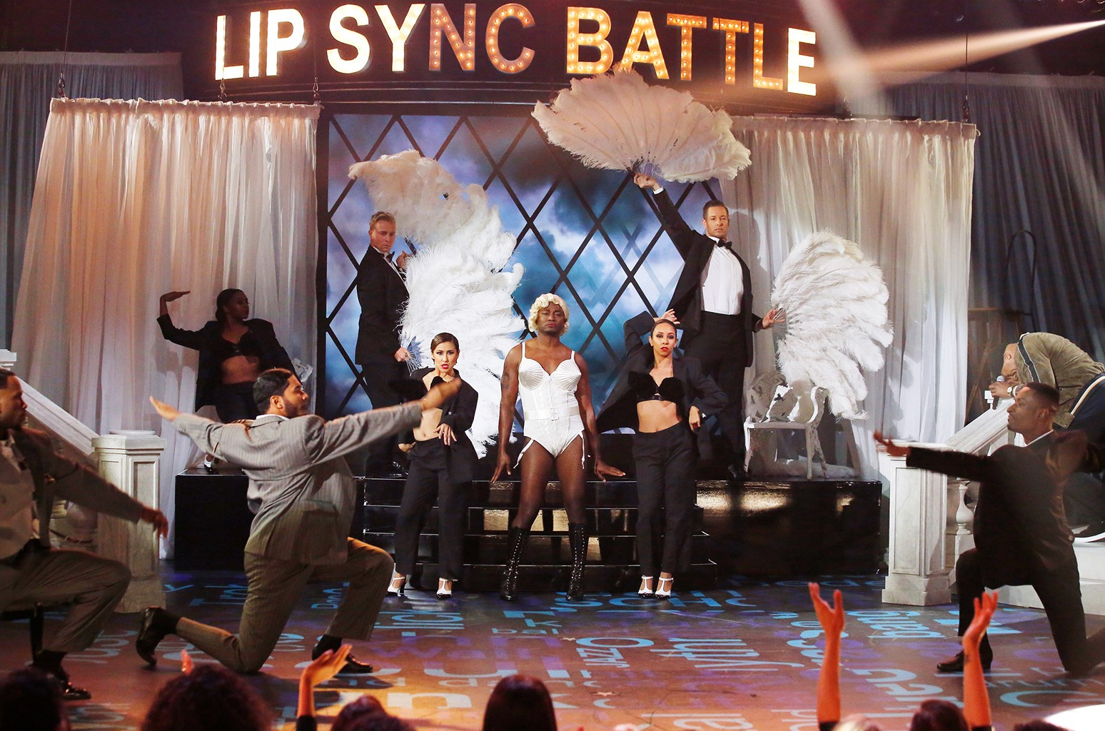 """Taye Diggs' performance of """"Vogue"""" on Spike's 'Lip Sync Battle.'"""