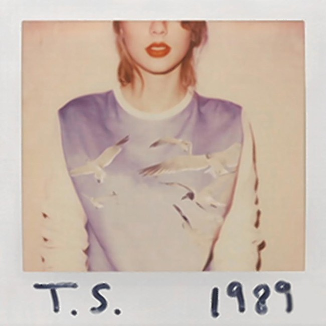 Taylor Swift -- 1989 Cover