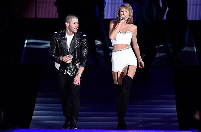 Nick Jonas and Taylor Swift