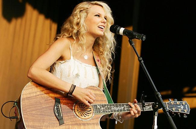 Taylor Swift, 2006.