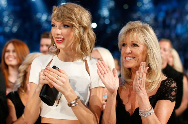 Taylor Swift and Norma Voss