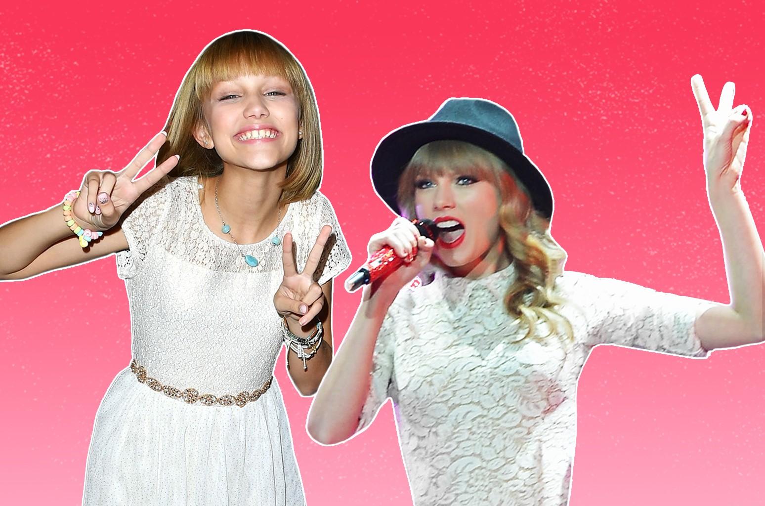 Watch America S Got Talent Winner Grace Vanderwaal S Reaction To Gift From Taylor Swift Billboard