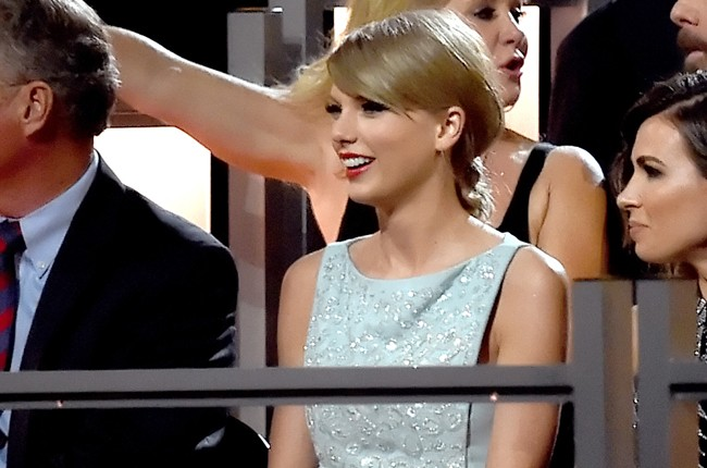 Taylor Swift attends the 50th Academy Of Country Music Awards