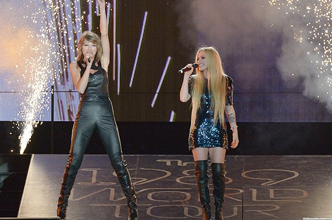 Taylor Swift and Avril Lavigne