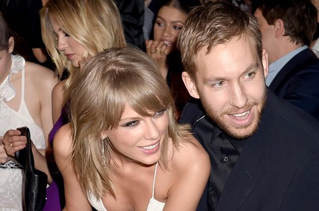Taylor Swift and DJ Calvin Harris