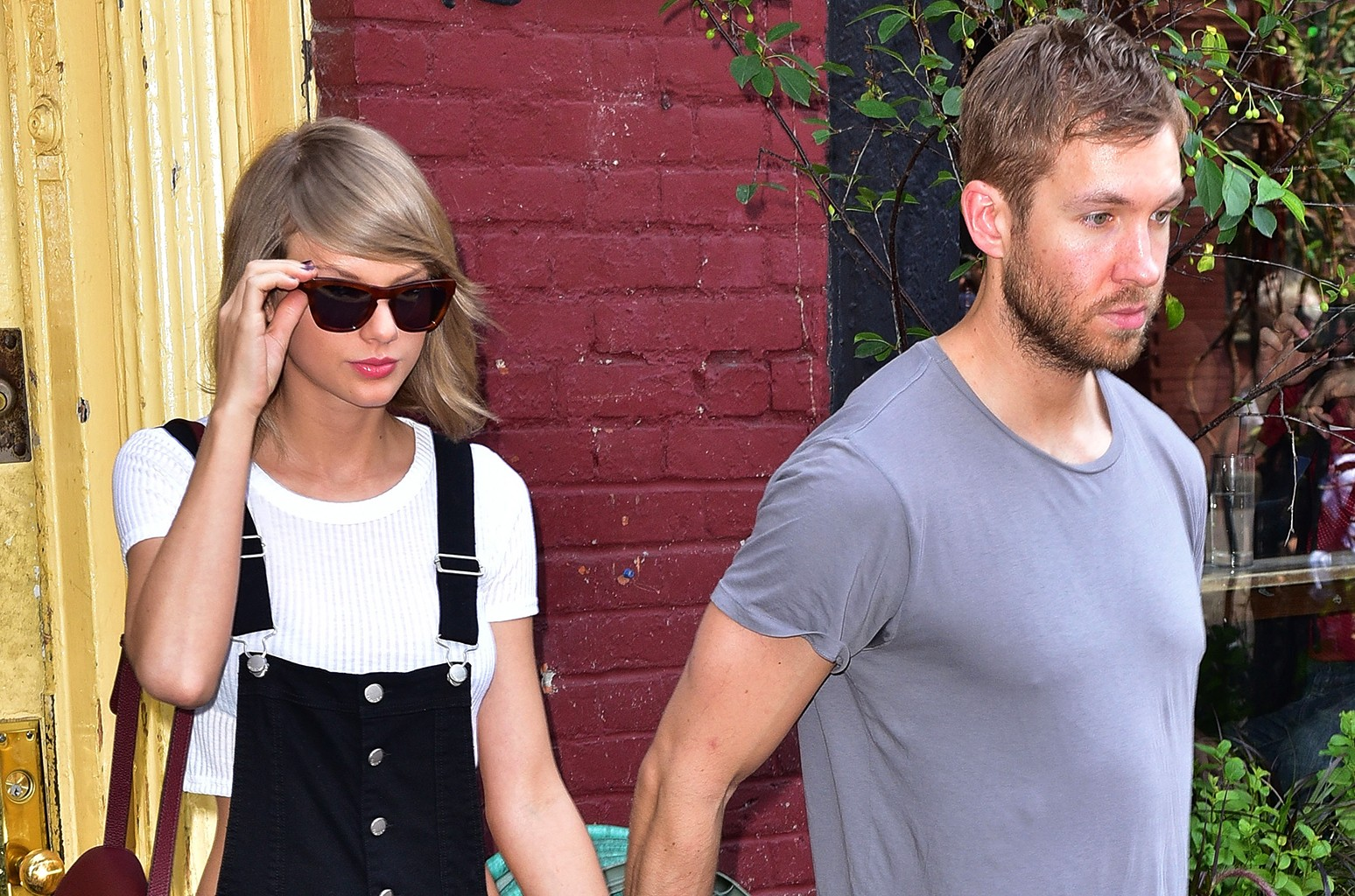 Taylor Swift and Calvin Harris in New York City