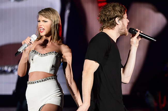 Taylor Swift and Dan Reynolds