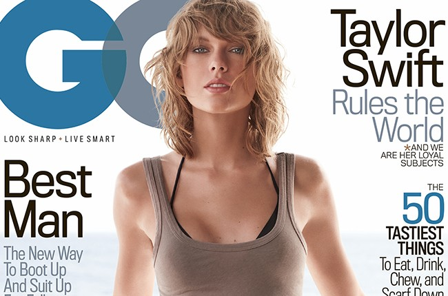 See Taylor Swift S Sultry New Gq Cover Billboard
