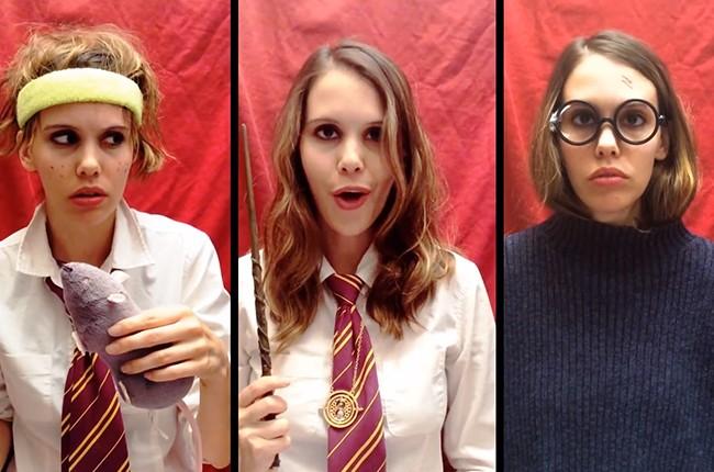 Taylor Swift + Harry Potter Parody Mashup