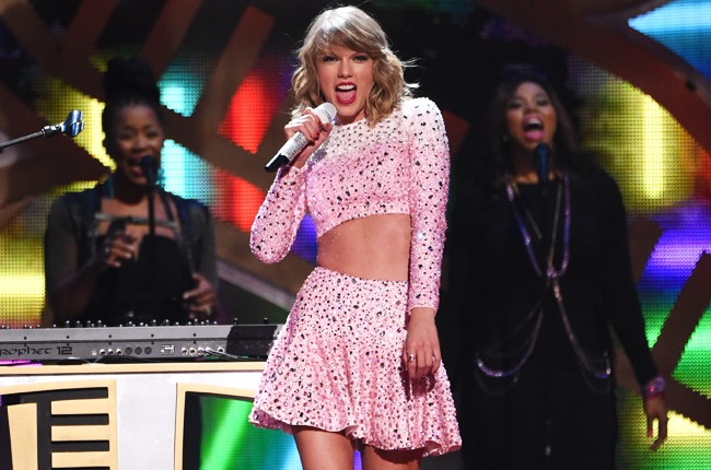 Taylor Swift at iHeartRadio 2014
