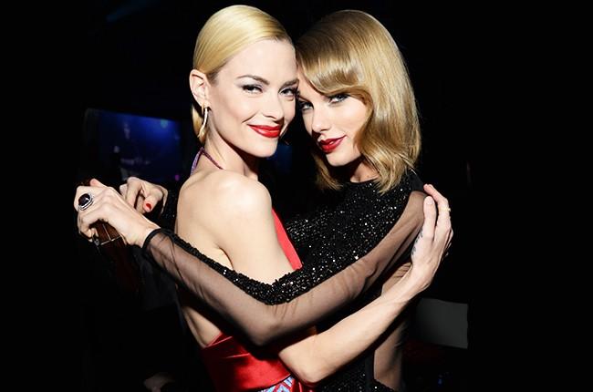Jaime King and Taylor Swift 2014