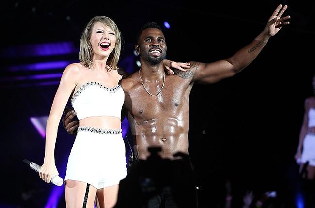 Taylor Swift and Jason Derulo