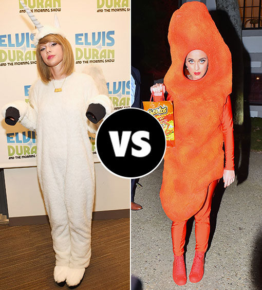 Katy Perry Or Taylor Swift Whose Costume Won Halloween Billboard