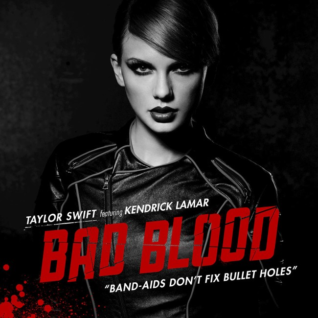 taylor swift bad blood kendrick lamar 2015 single art