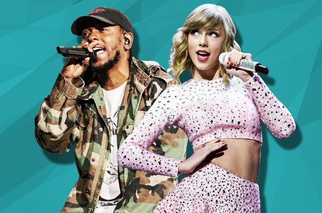 Kendrick Lamar and Taylor Swift
