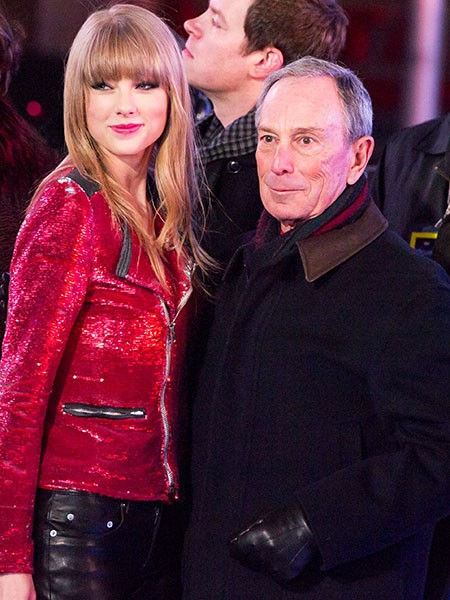 Taylor Swift and Michael Bloomberg