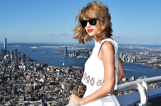 Taylor Swift in New York August 2014