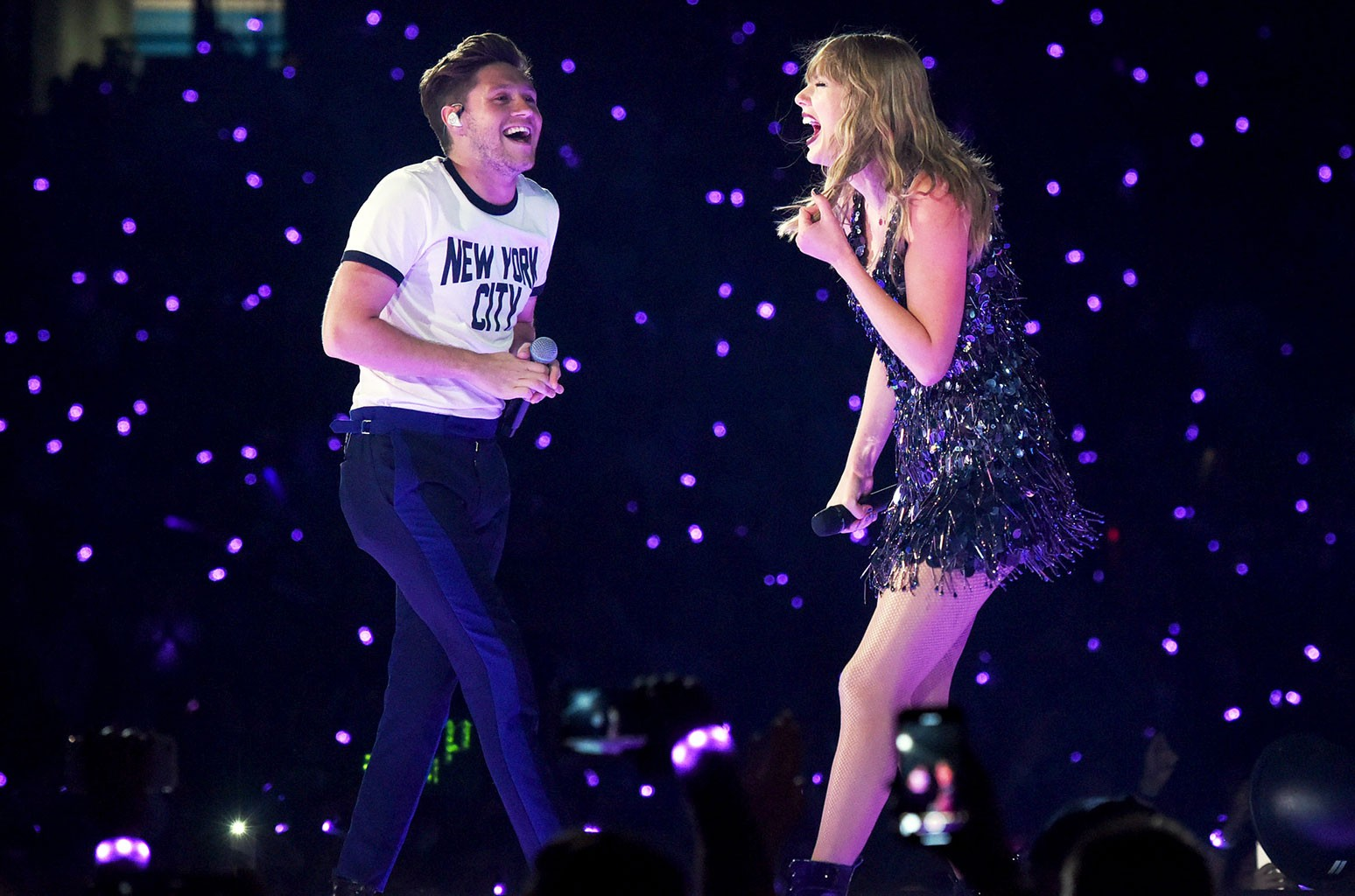 Taylor Swift and Niall Horan