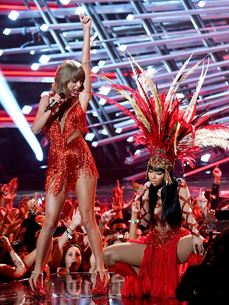 Taylor Swift Nicki Minaj  MTV VMAs 2015