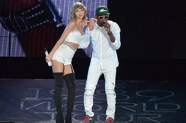 Taylor Swift and Omi