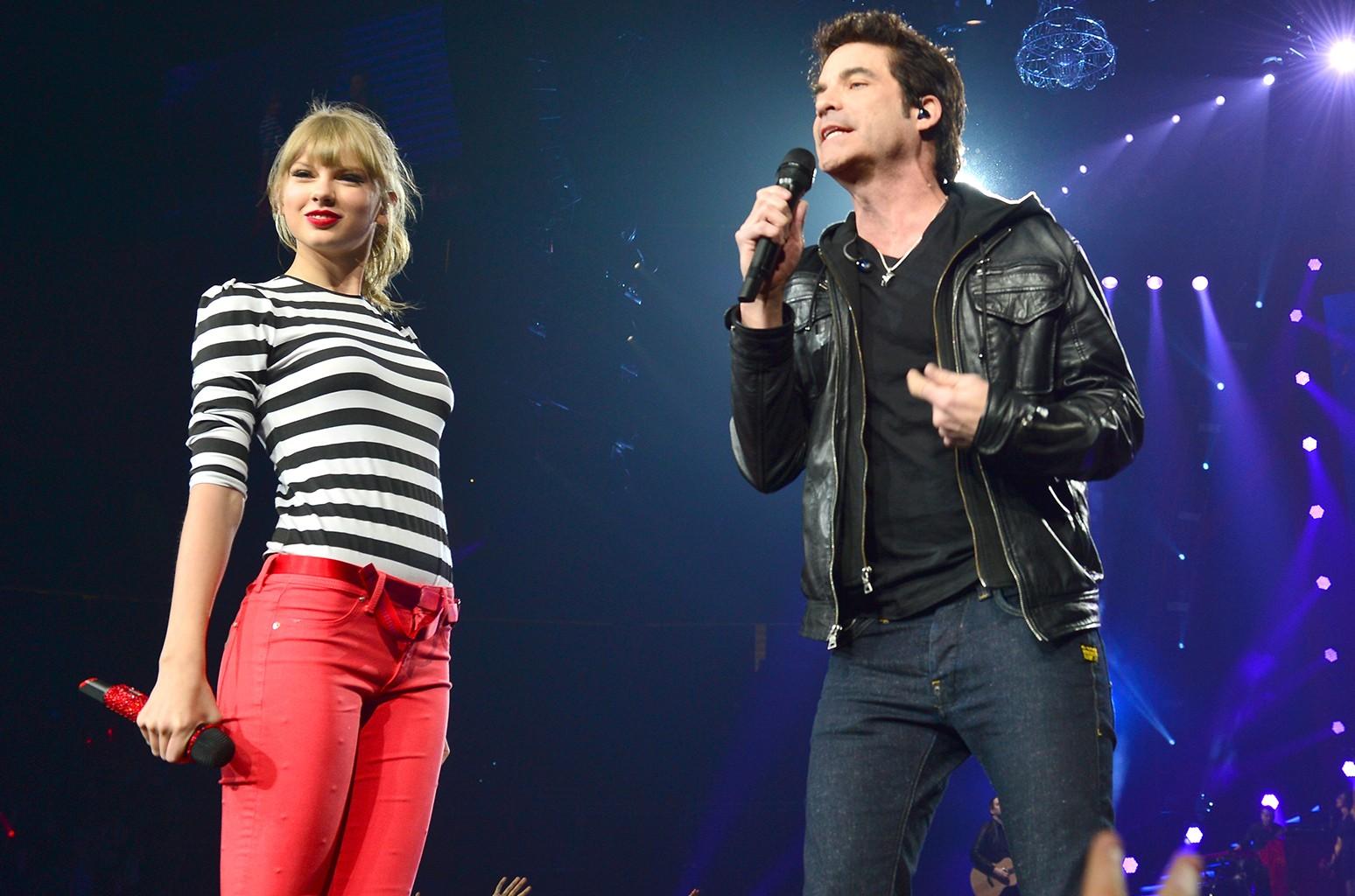 Taylor Swift & Pat Monahan