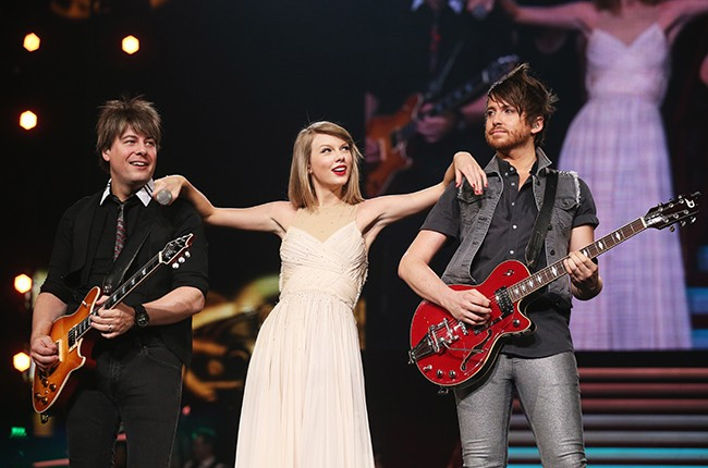 Taylor Swift performs Red tour in Japan