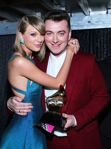 Taylor Swift and Sam Smith