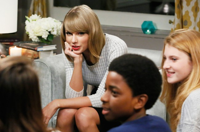 """taylor swift at Scholastic's """"Open a World of Possible"""""""