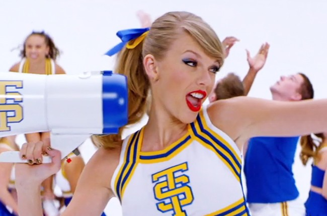 "Music video for Taylor Swift's ""Shake It Off"""