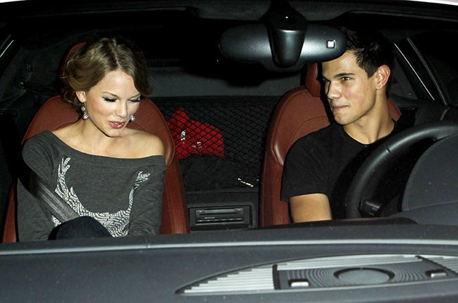 Taylor Swift and Taylor Lautner, 2009.