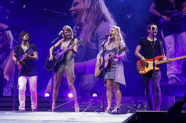 Taylor Swift and The Band Perry