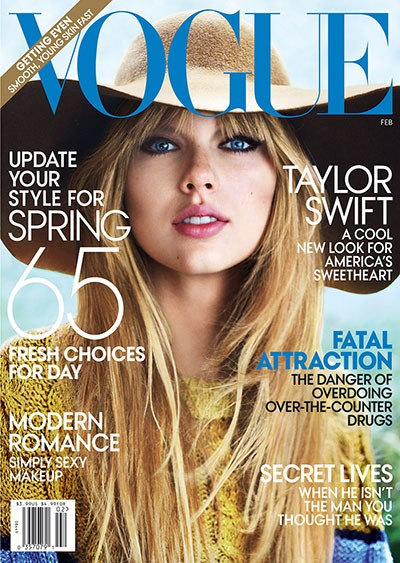 Taylor Swift Vogue Cover, 2013.