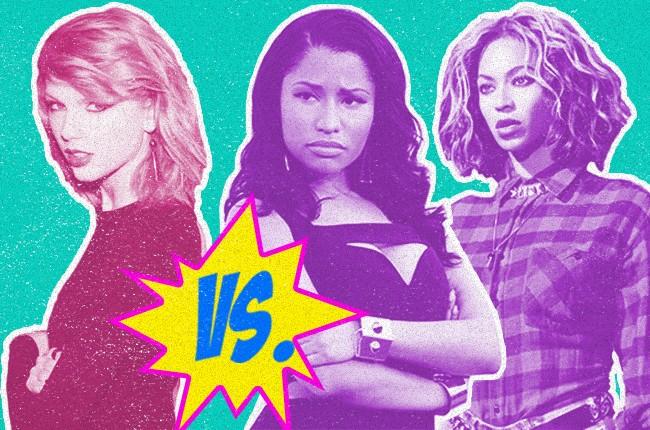 Taylor Swift vs. Nicki Minaj and Beyonce